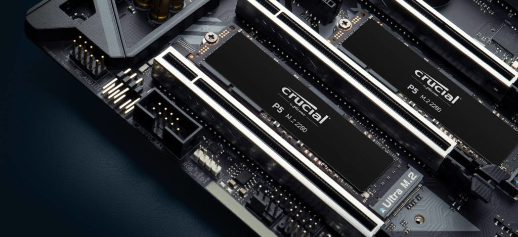 SSD Crucial P5 02