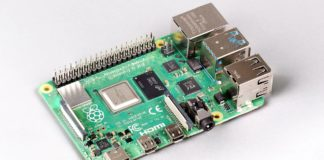 Raspberry Pi 4 Model B s 8GB LPDDR4 1600