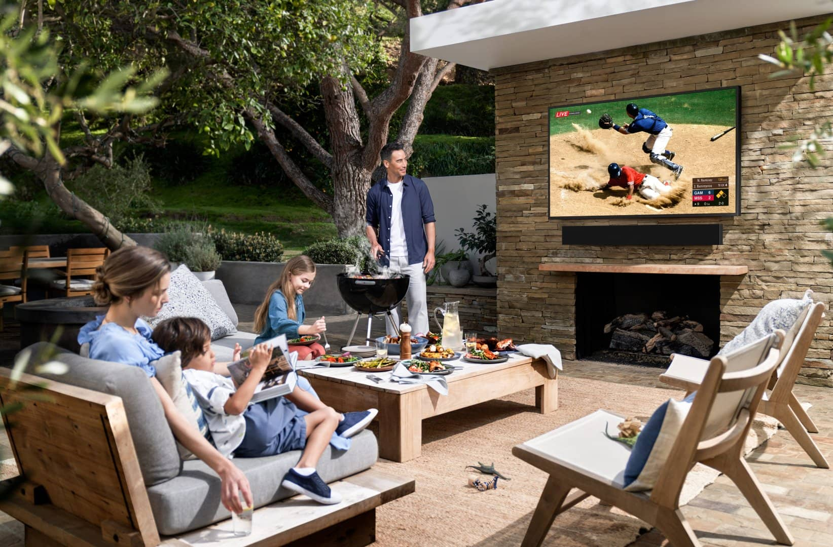 Samsung Terrace TV obr6