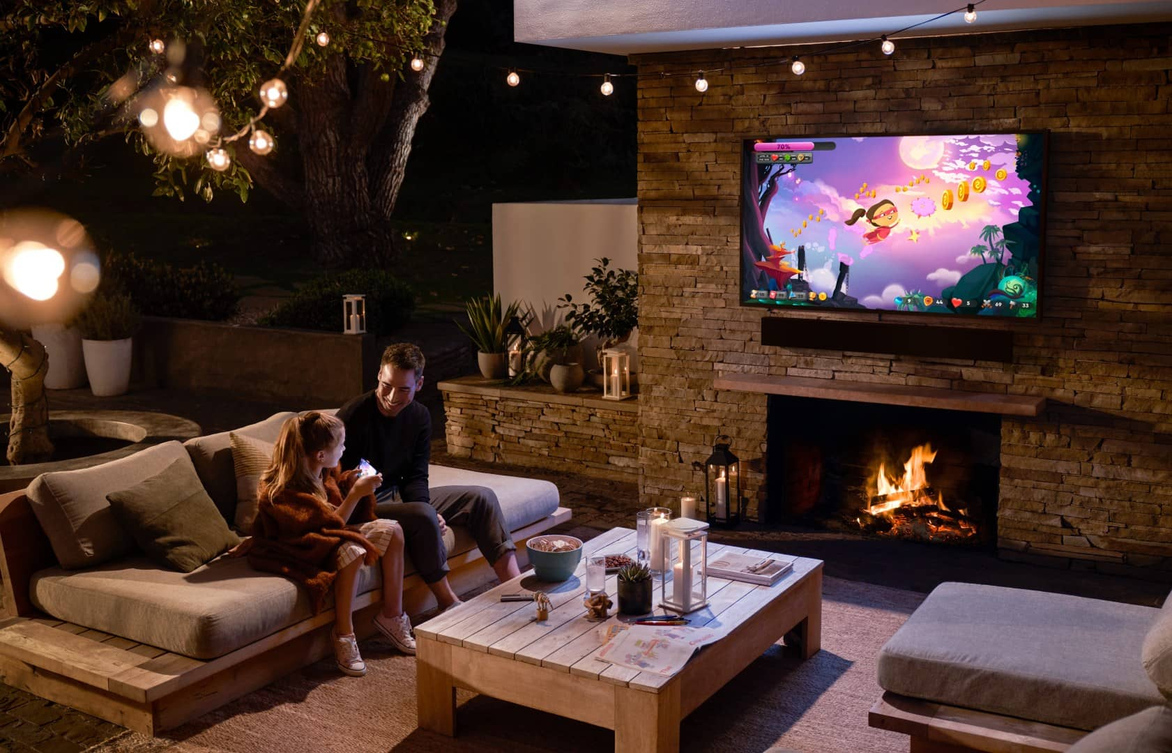 Samsung Terrace TV obr7