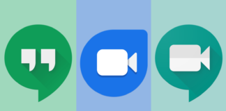 Google Hangouts, Duo a Meet