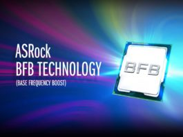 ASRock Base Frequency Boost Technology 1600