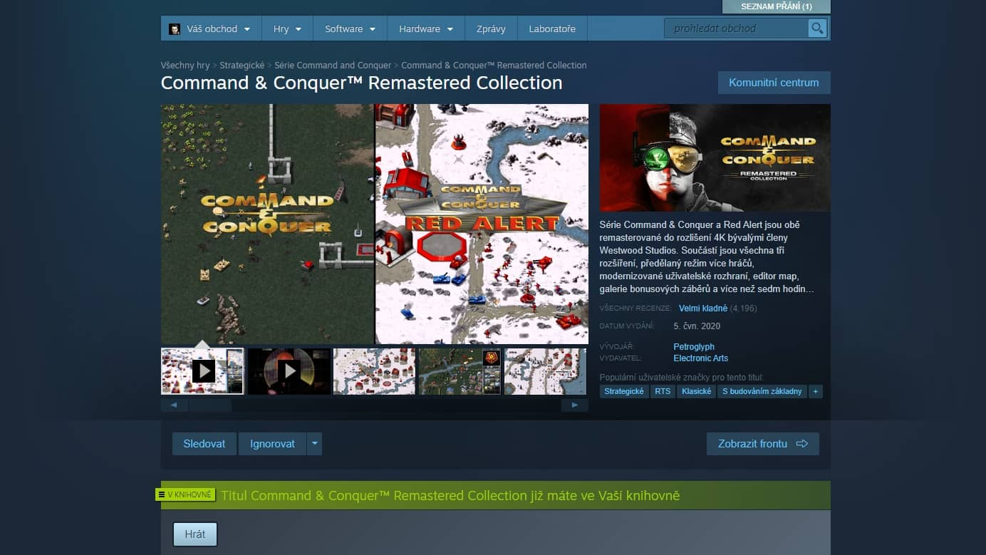 Command Conquer Remastered Collection Steam