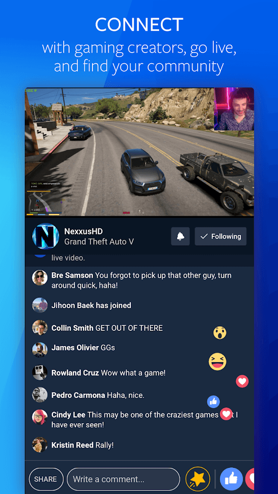 facebook gaming android 2