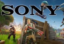 Fortnite a Sony