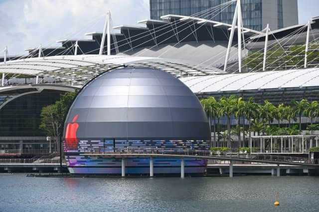 Apple Store Singapur obr2 Getty Images