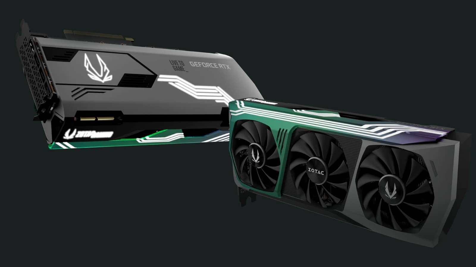 Karty GeForce RTX 3000 od Zotacu