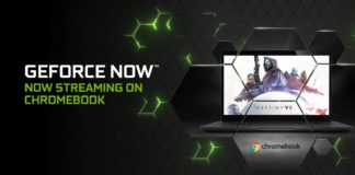Nvidia GeForce Chromebook 1600