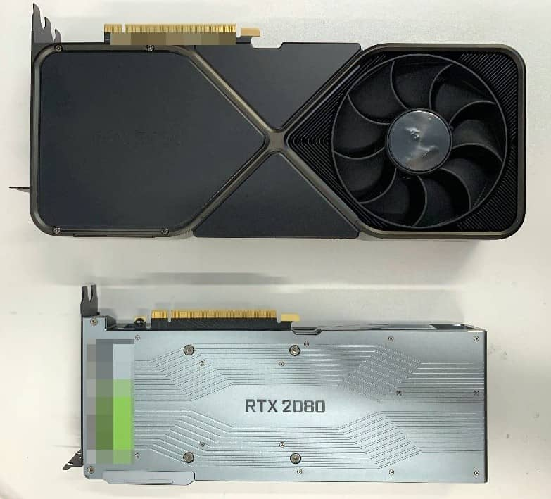 Nvidia GeForce RTX 3090 Founders Edition unik zadek