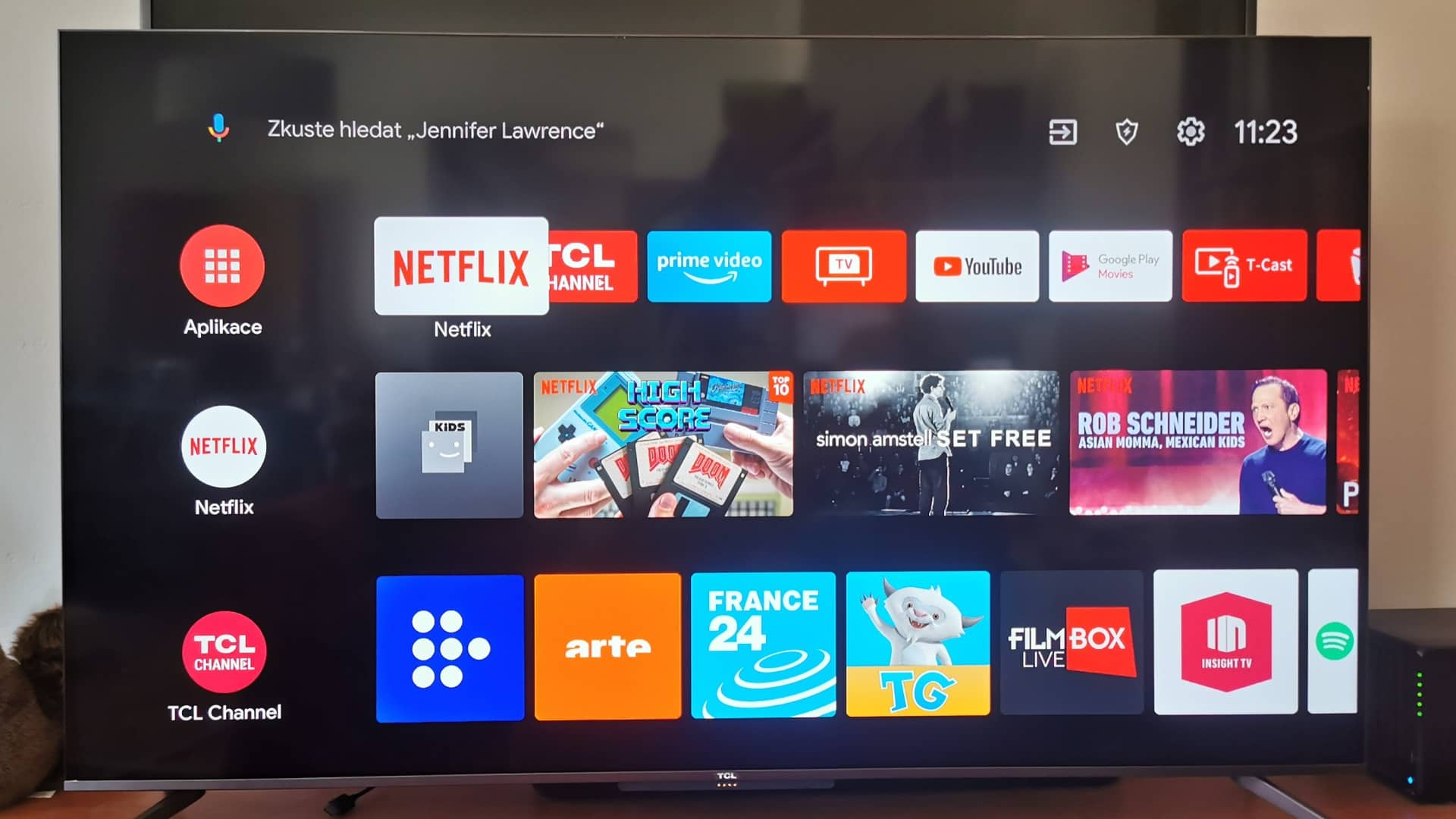 TCL C715 obr10 Android