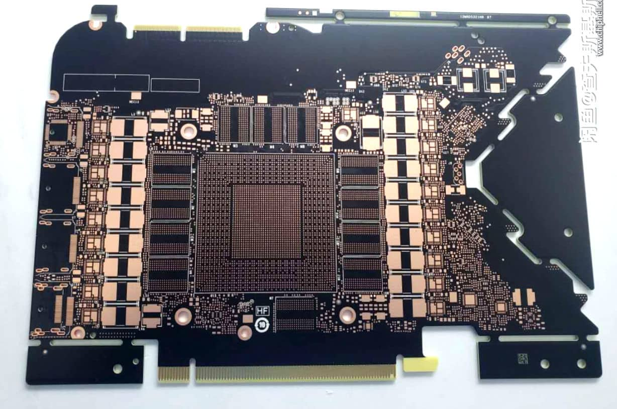 PCB karty Nvidia GeForce RTX 3080 a RTX 3090 Founders Edition 2