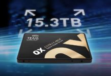 Team Group QX SSD 153TB 1600