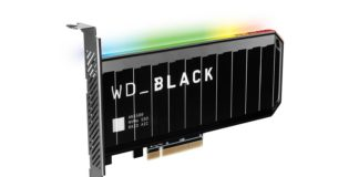WD Black AN1500 karta 1600