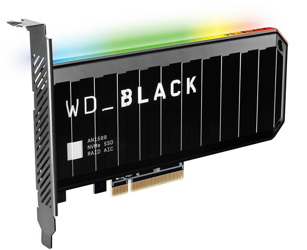 WD Black AN1500 karta