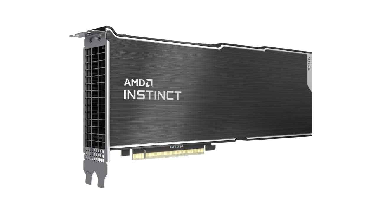 AMD Instinct MI100 s architekturou CDNA 02