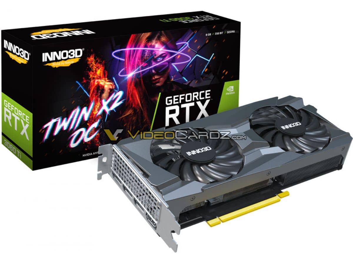 Inno3D GeForce RTX 3060 Ti 8GB Twin X2
