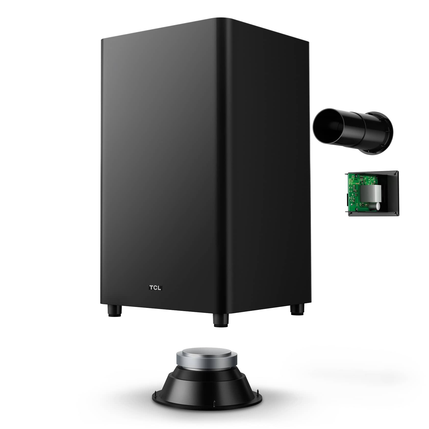 TCL Raydanz subwoofer exploded view