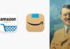 Amazon nové logo