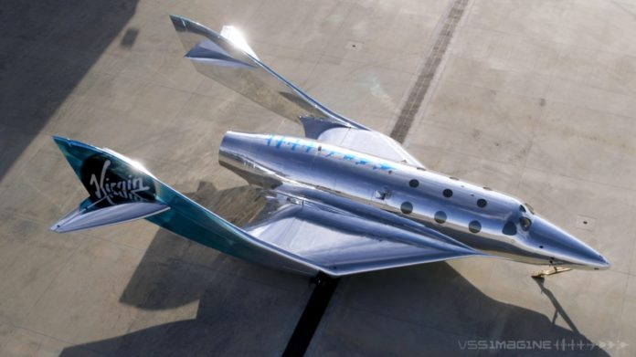 Virgin Galactic VSS Imagine
