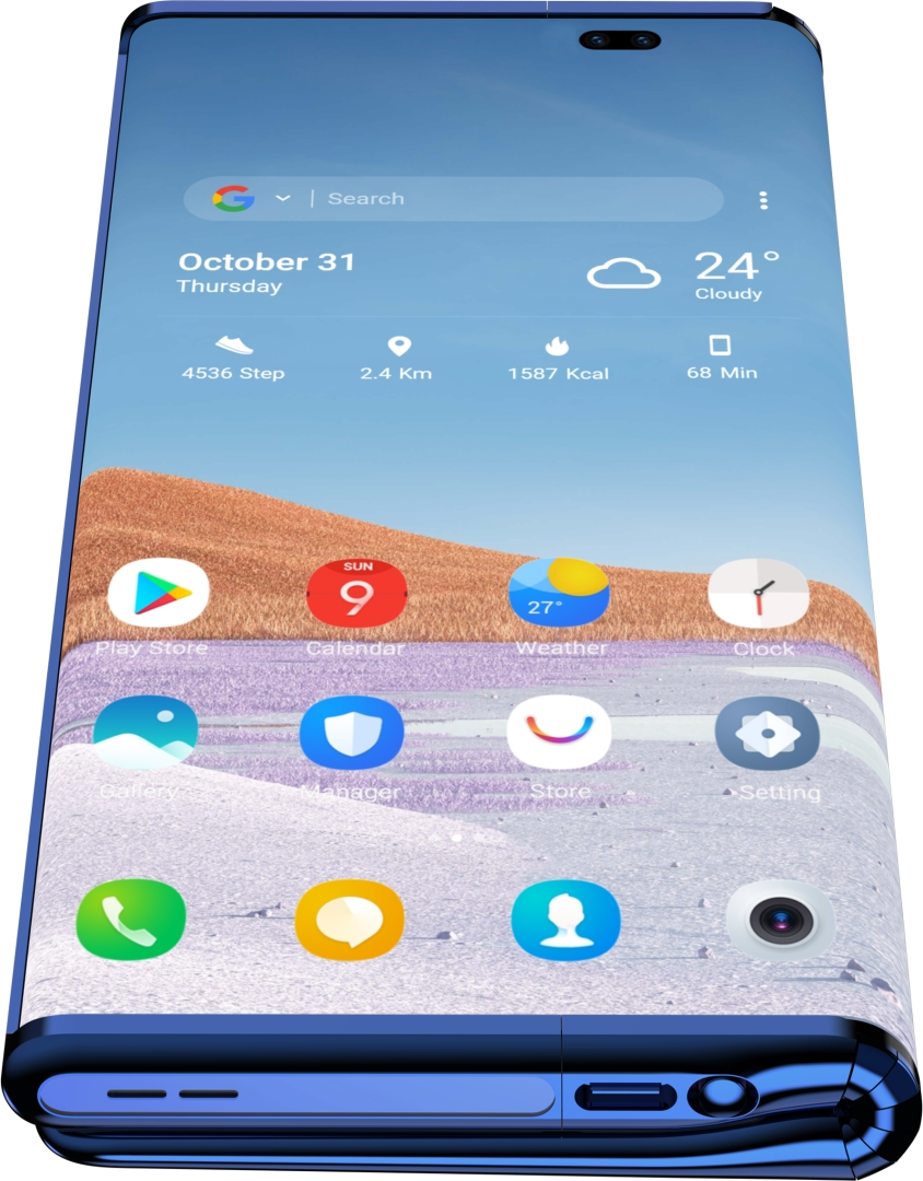 TCL Fold n Roll concept smartphone 10