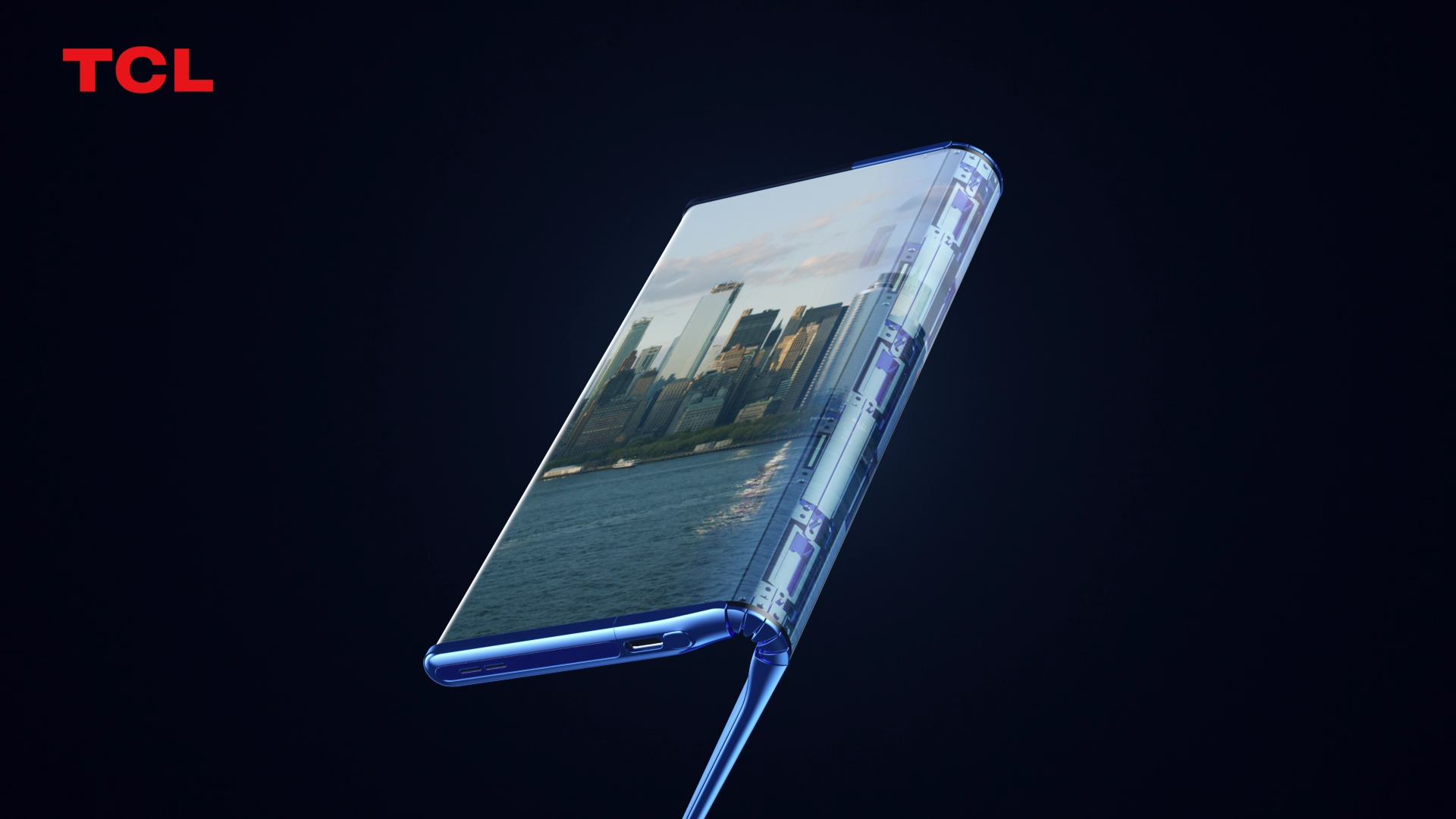 TCL Fold n Roll concept smartphone