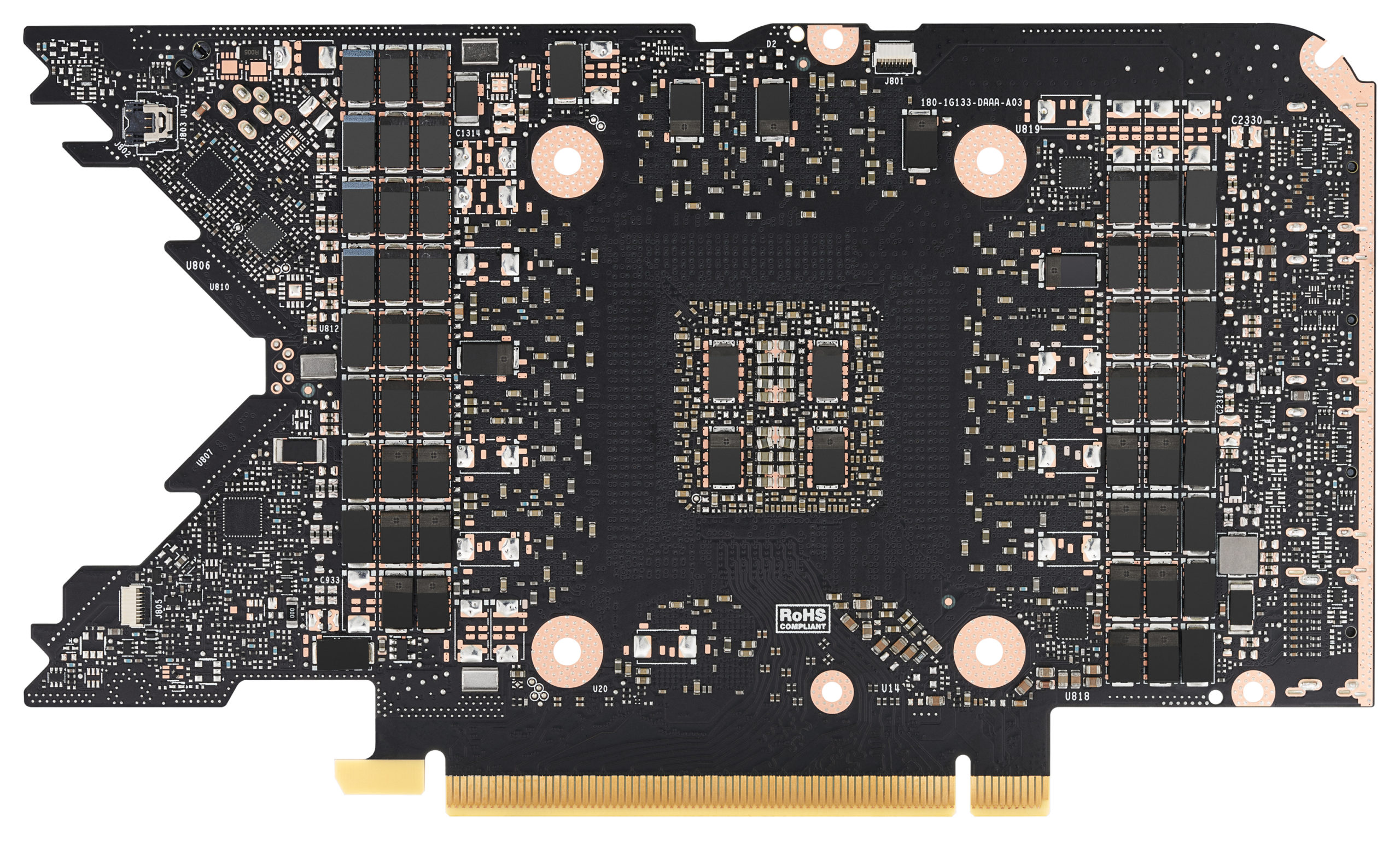 Nvidia GeForce RTX 3080 Ti Founders Edition PCB 3