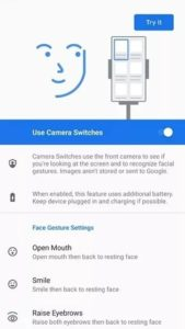 Android facial gestures 1