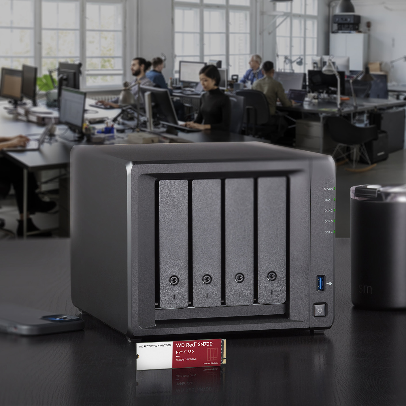 WD Red SN700 NVMe SSD pro NASy 4