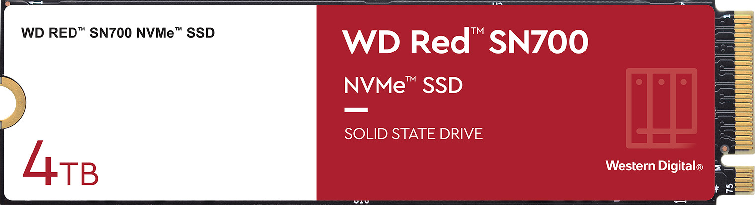WD Red SN700 NVMe SSD pro NASy 6
