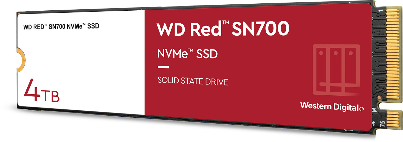 WD Red SN700 NVMe SSD pro NASy 7